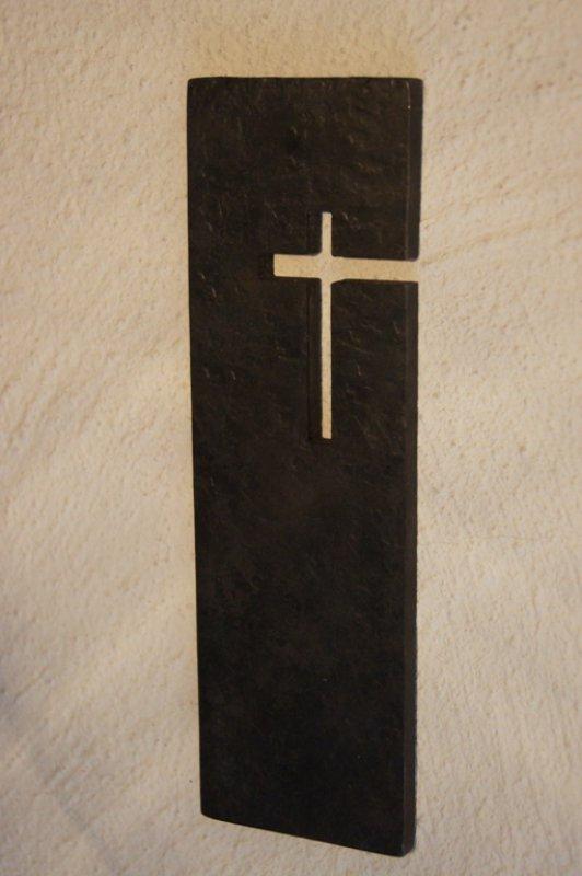 Wandkreuz aus Schmiedeeisen