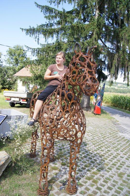 Hufeisen-Pferd